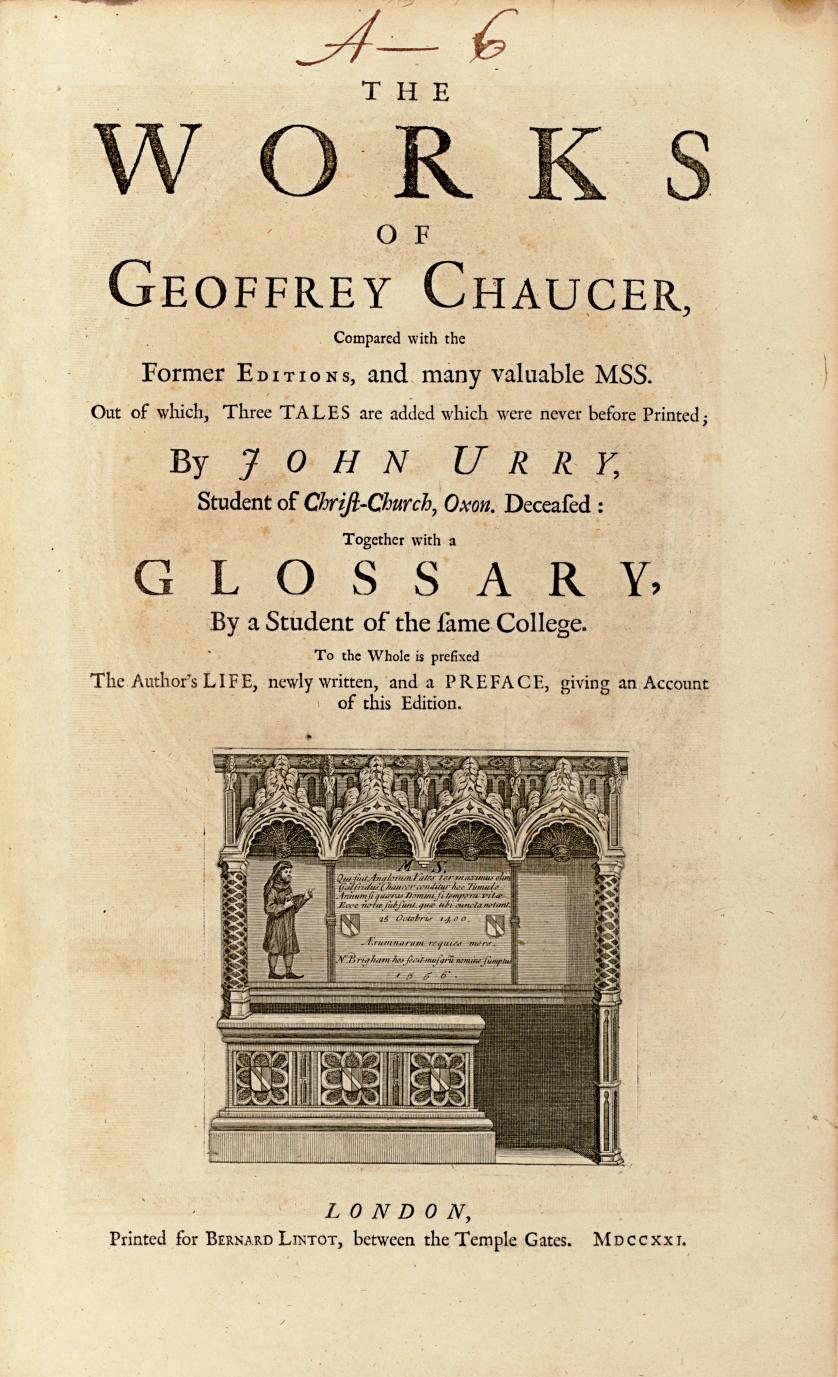 CHAUCER, Geoffrey (1340?-1400)