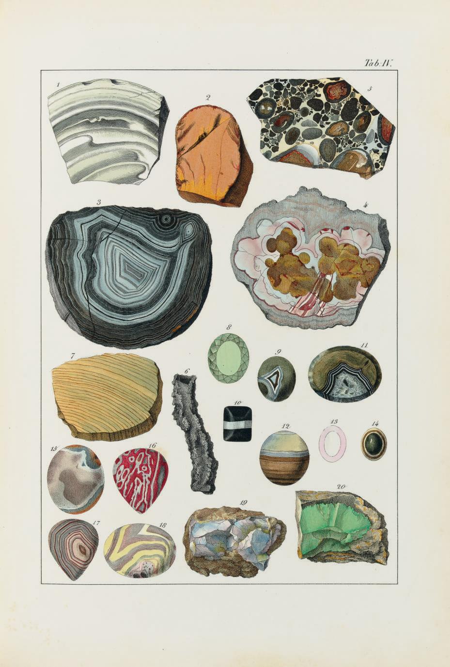 KURR, Johann Gottlob von (1798-1870). The Mineral Kingdom. Edinburgh: Edmonston and Douglas, 1859.