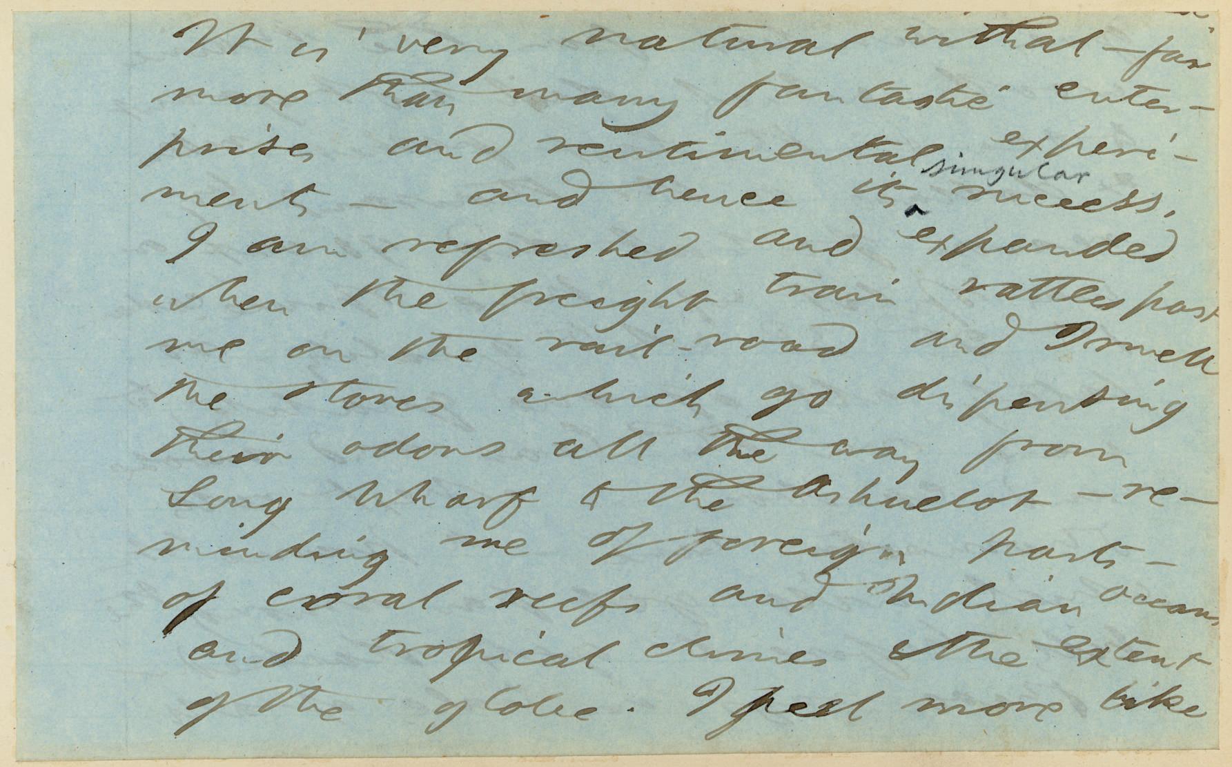 THOREAU, Henry David  (1817-18