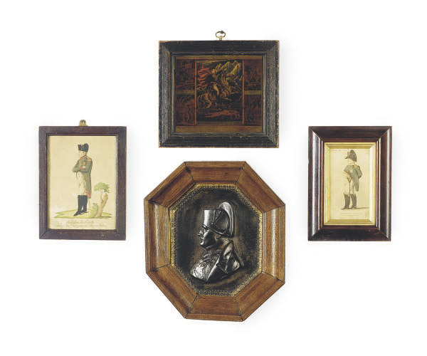 A GROUP OF FOUR PORTRAITS OF NAPOLEON,