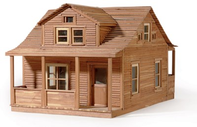REPLICA OF ROY'S FIRST HOME
