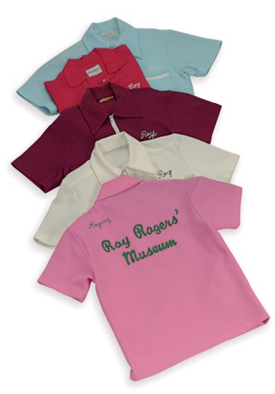 A GROUP OF FIVE BOWLING SHIRTS