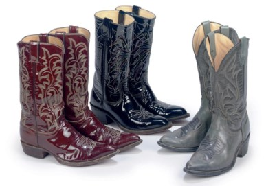 THREE PAIRS OF ROY'S BOOTS