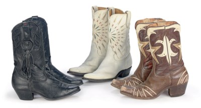 THREE PAIRS OF DALE'S BOOTS
