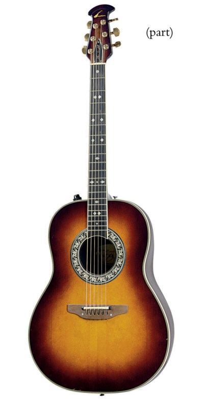 TWO OVATION ACOUSTIC ELECTRIC