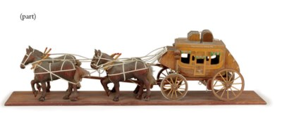 TWO STAGECOACH MODELS
