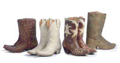 FOUR PAIRS OF DALE'S BOOTS