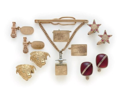 CUFF LINKS AND ACCESSORIES