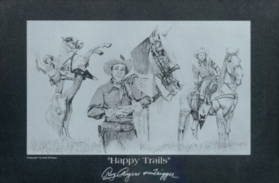 HAPPY TRAILS ROY ROGERS AND TR