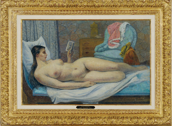 Interior with Nude (Isabel)