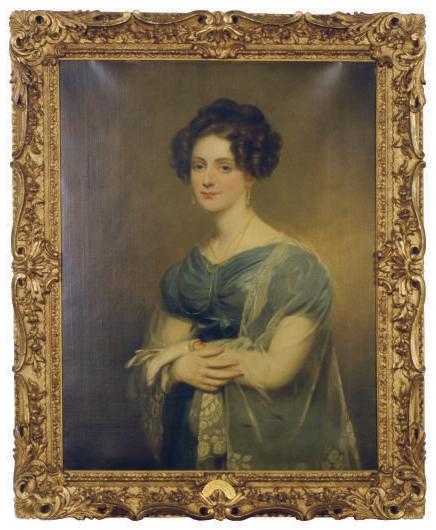 Portrait of Mary Margaret Hampton of Angelsea