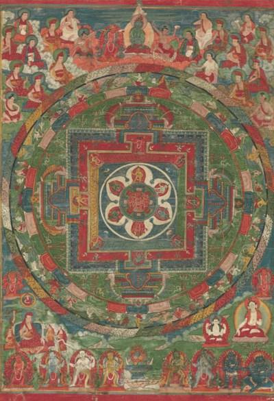 A mandala of Chakrasamvara