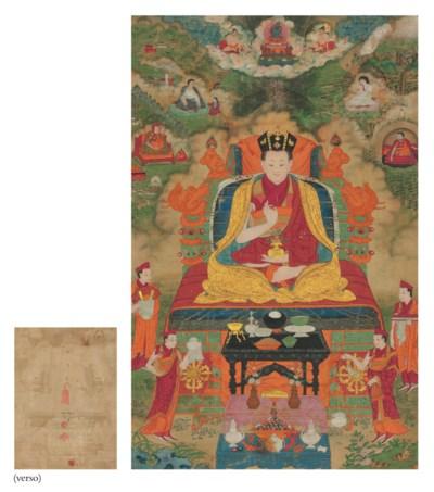 A thangka of the Ninth Karmapa