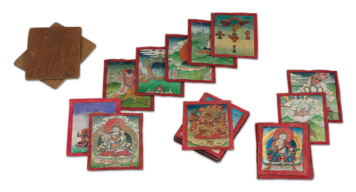 A set of tsakali