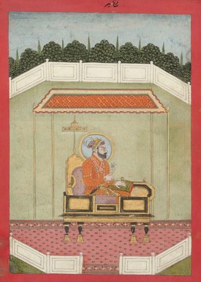 Portrait of Farrukhsiyyar seat