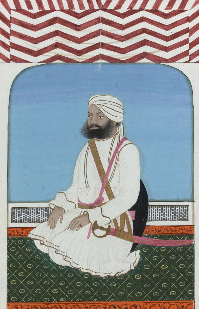 A Portrait of Haider Ali Khan