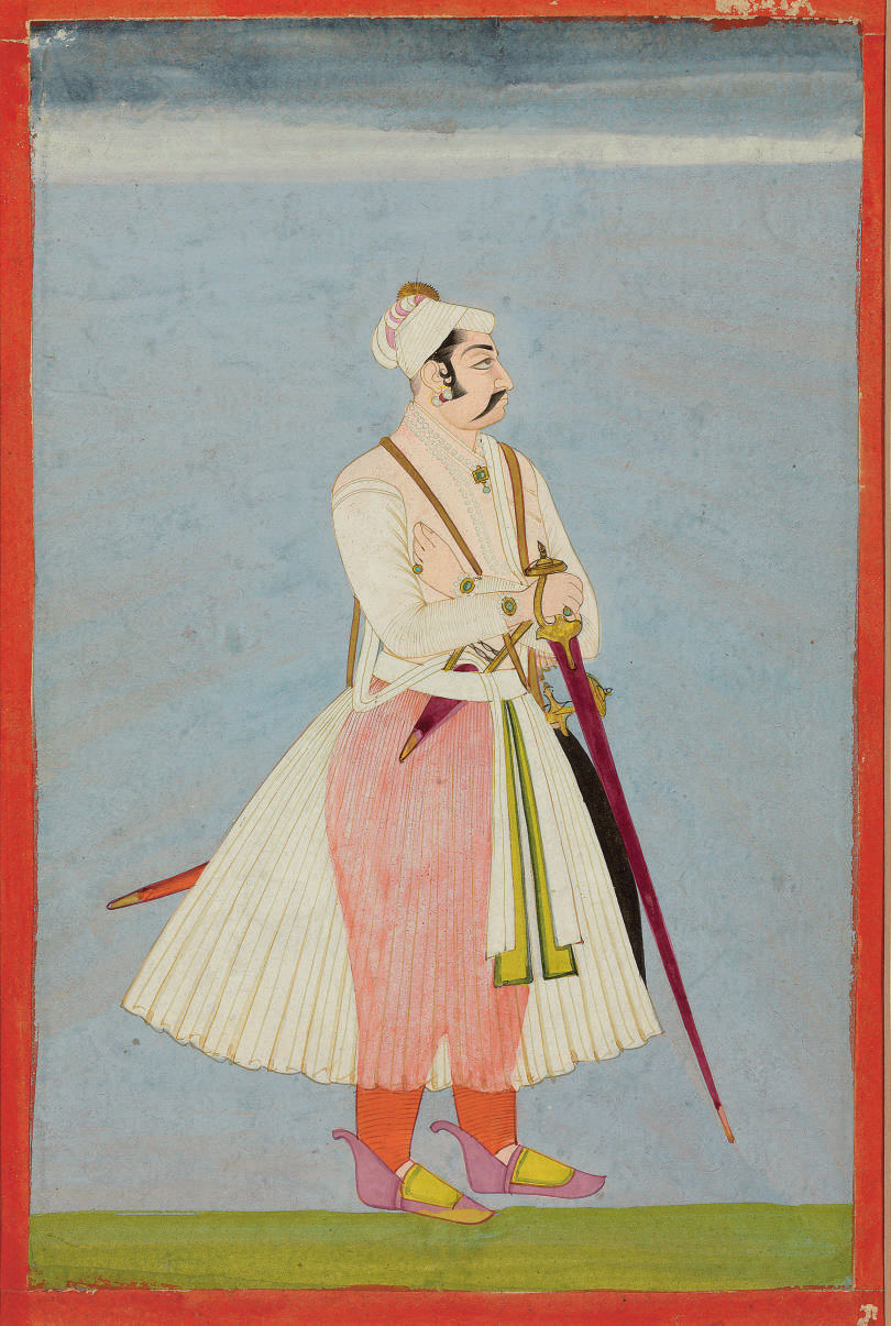 A painting of Maharaja Gaj Sin