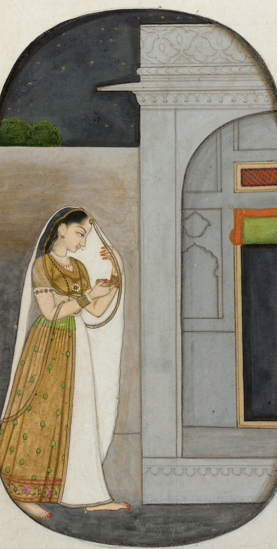 A Painting of a Princess on He