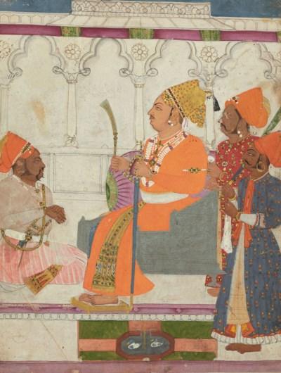 A painting of Maharaja Abhai S