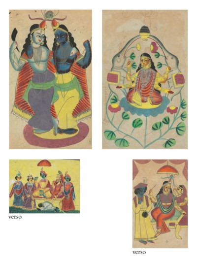 Two Kalighats of Krishna with