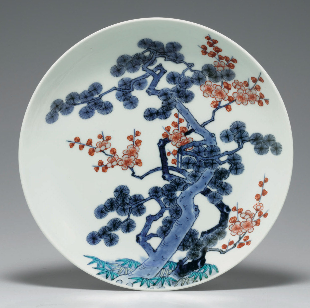 A porcelain dish