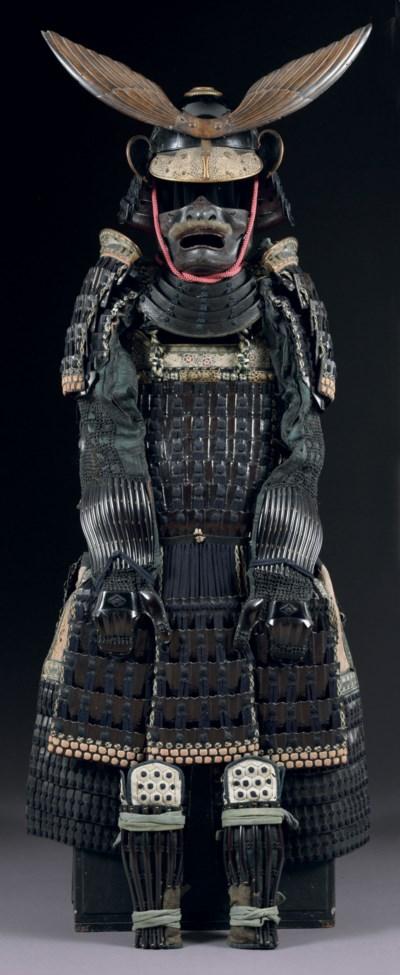 A blue-laced rokumai do armor
