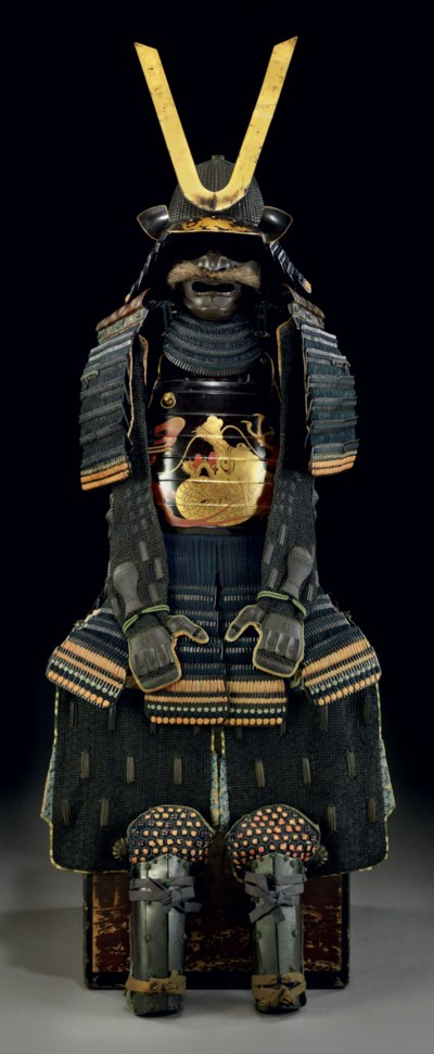 A blue-laced okegawa do armor