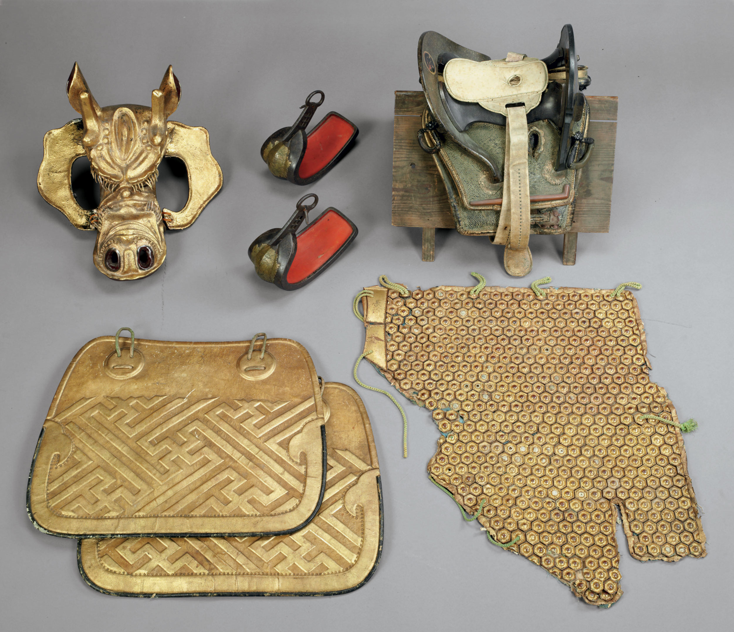 A set of horse armor (bagai) w