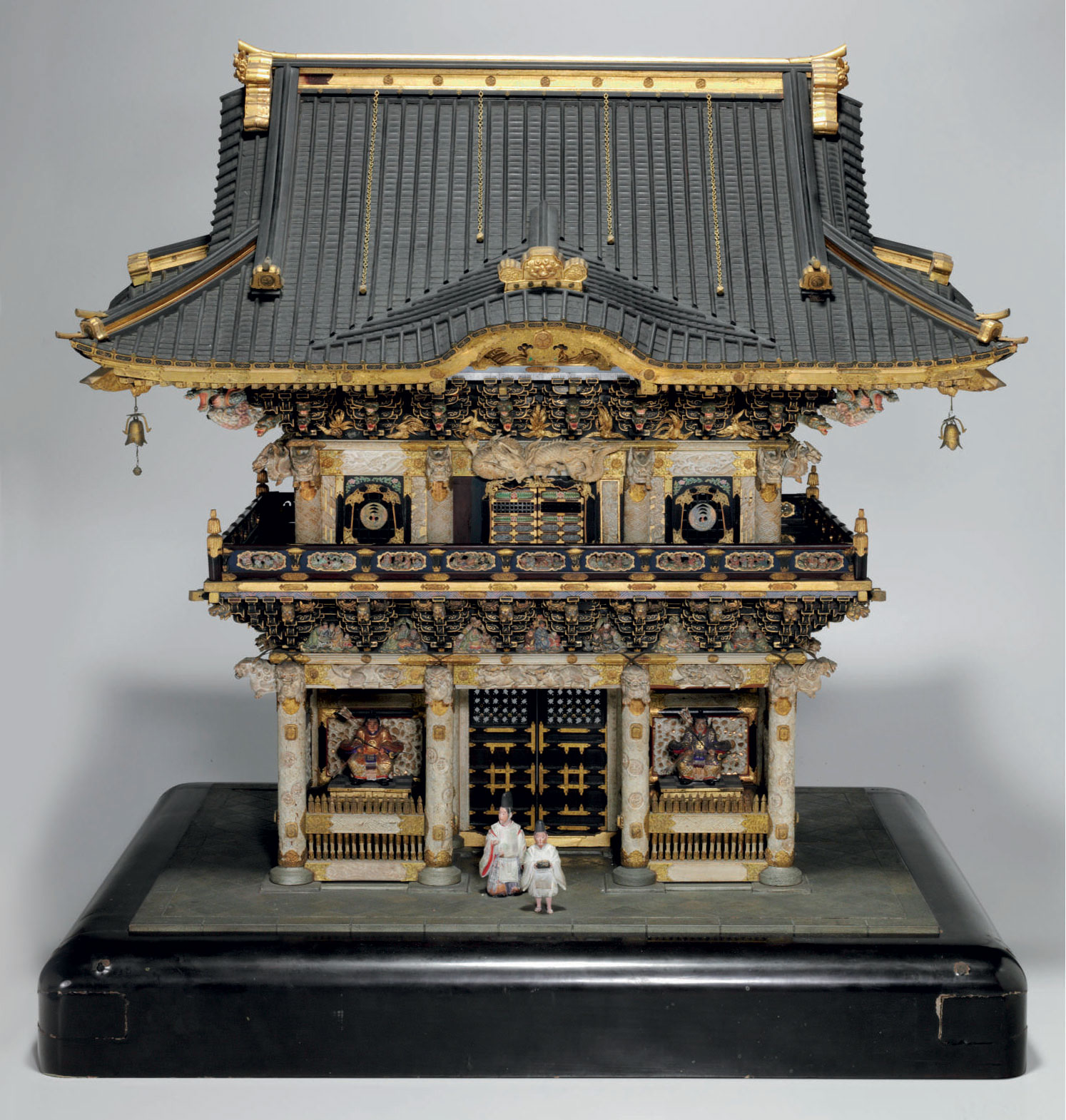An architectural model of the