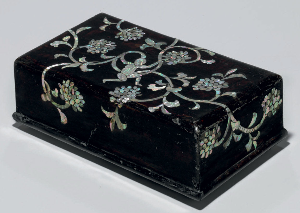 A Mother-of-pearl-inlaid and L