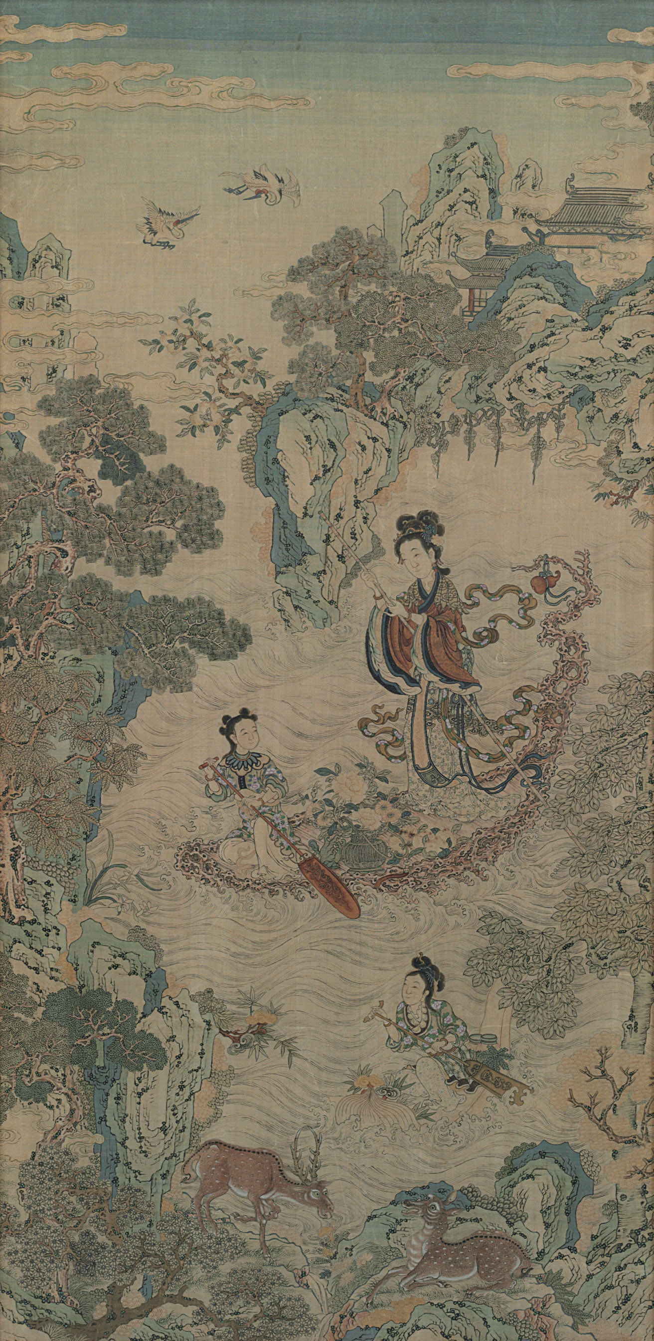 A KESI  PANEL OF XIWANGMU