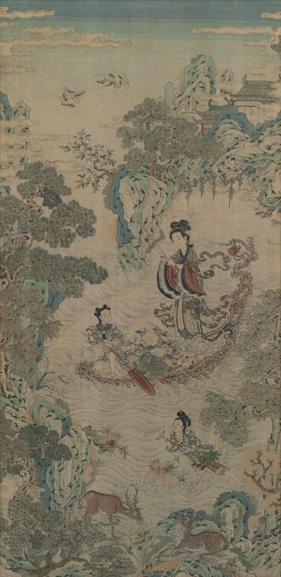 A KESI  PANEL OF XIWANGMU