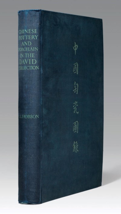 HOBSON, R.L. A Catalogue of Ch