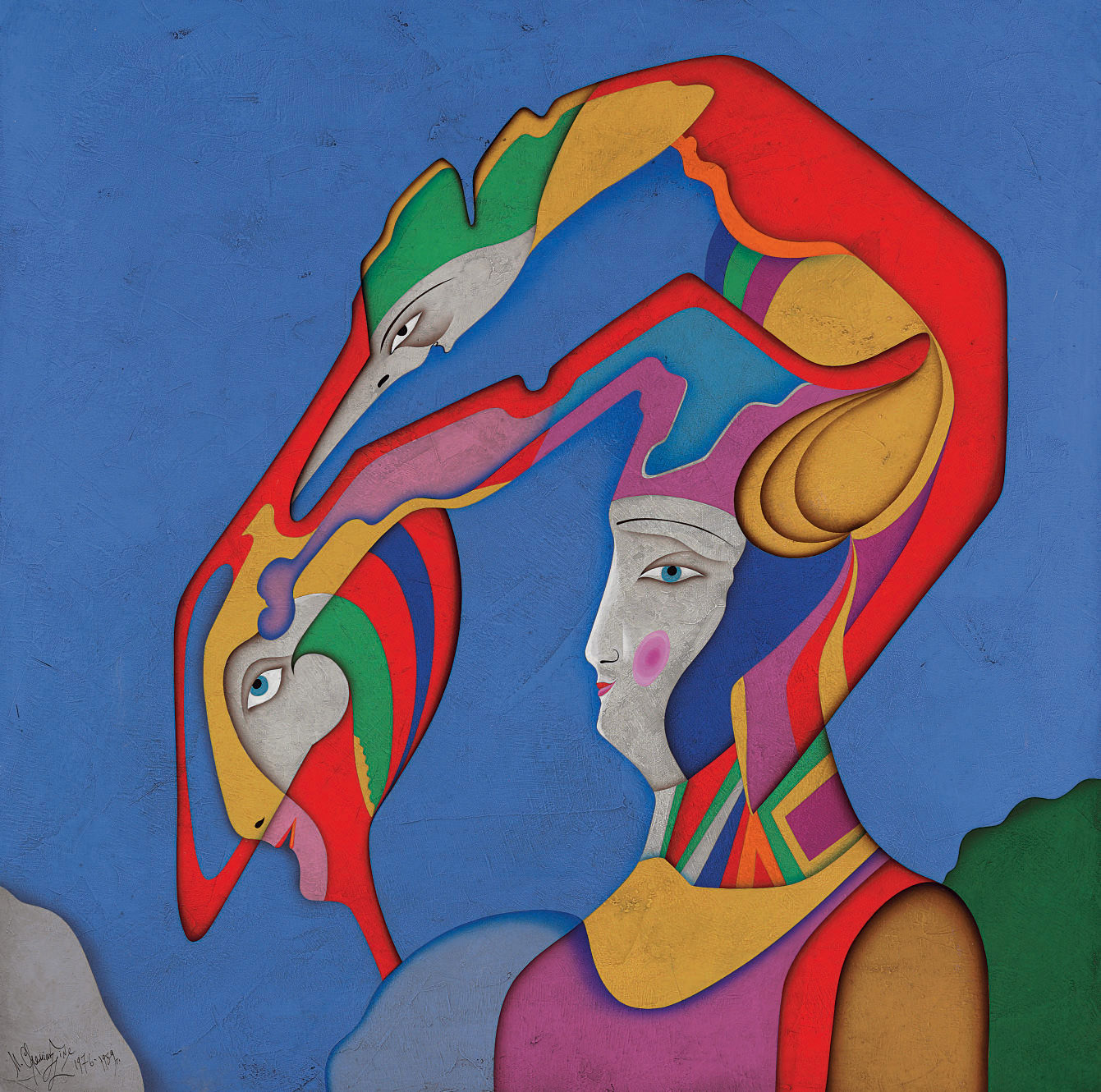 Metaphysical Head XVIII