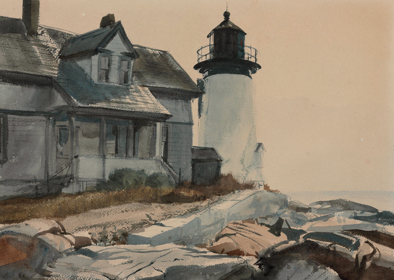 Prospect Harbor Light