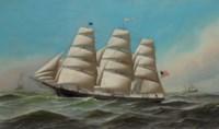 The Clipper Ship J.F. Chapman