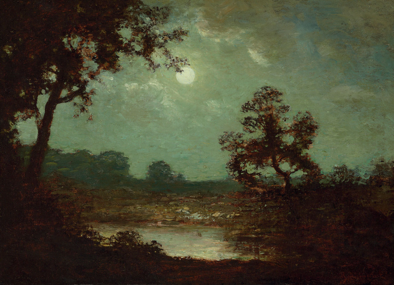 Landscape at Moonlight
