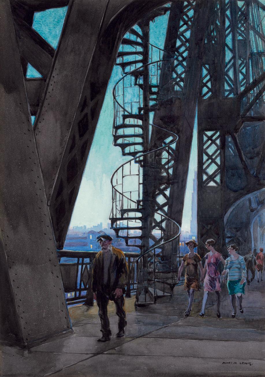 Spiral Staircase, Queensboro Bridge