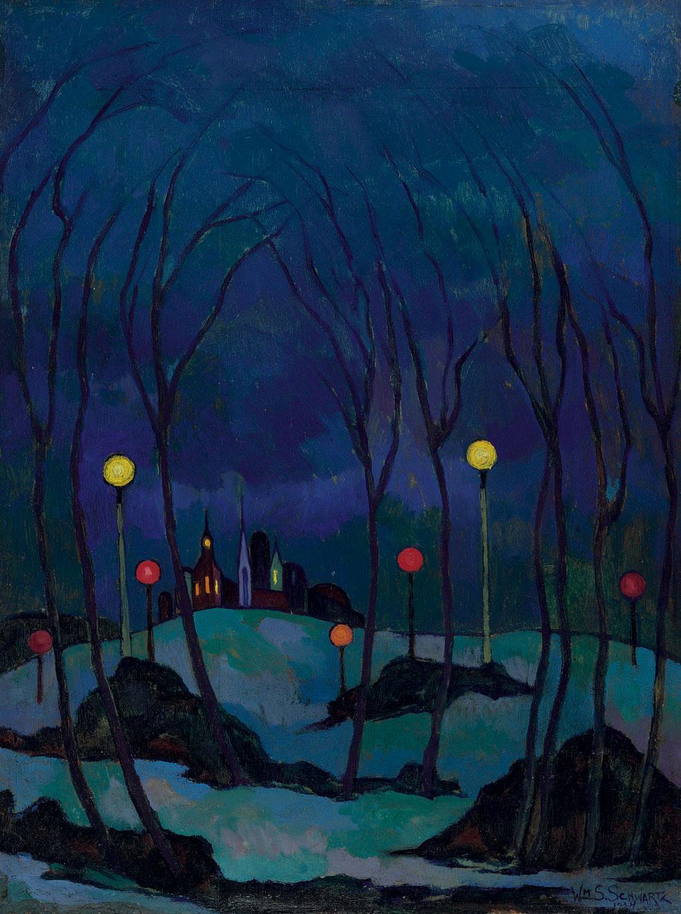 William S. Schwartz: Romantic Modernist by Yen Azzaro