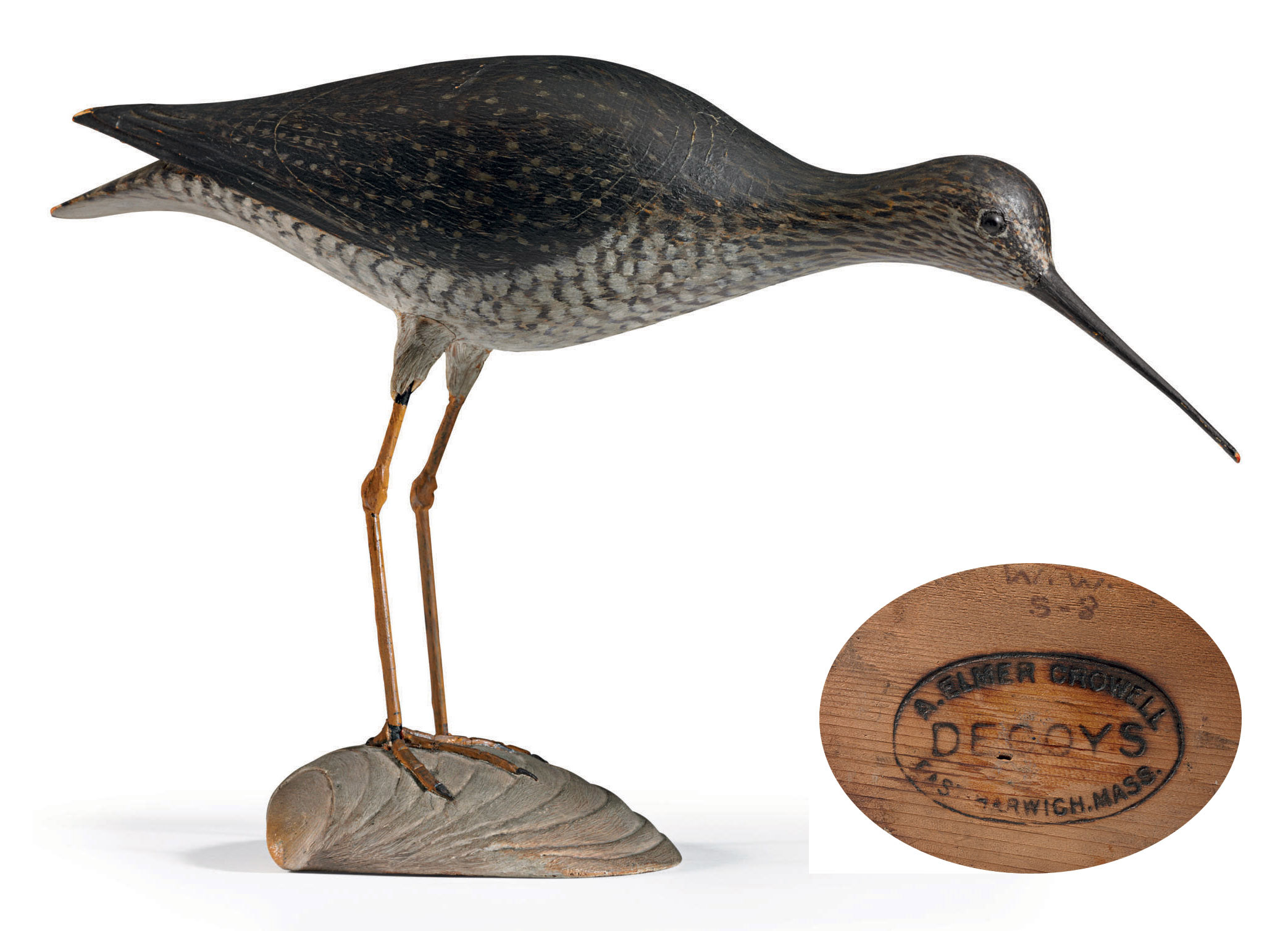 A GREATER YELLOWLEGS