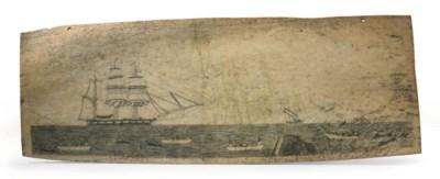 A SCRIMSHAW PANBONE