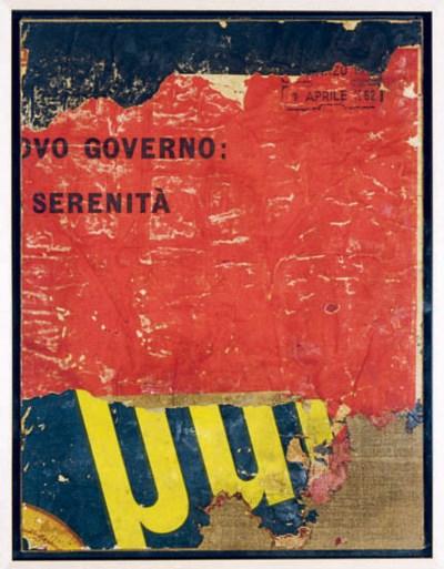 Mimmo Rotella (Italian, 1918-2