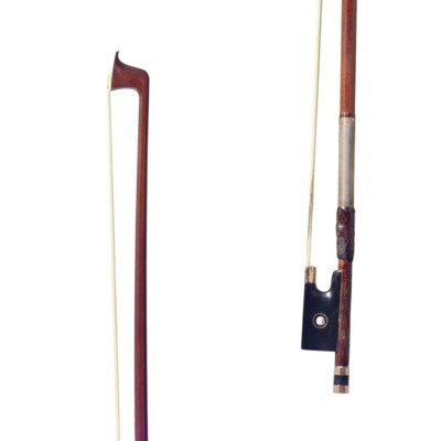 A GOLD-MOUNTED VIOLIN BOW