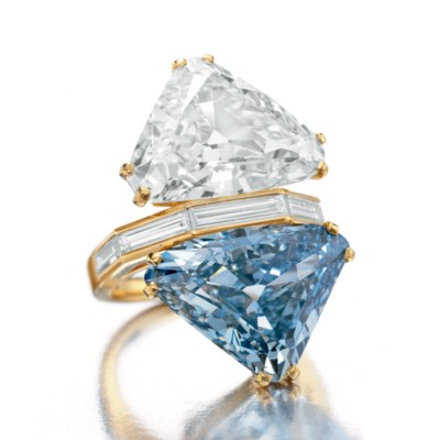 THE BVLGARI BLUE  A TWO-STONE