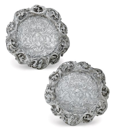 A PAIR OF IMPORTANT VICTORIAN