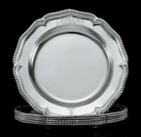 A SET OF SIX WILLIAM IV SILVER SECOND-COURSE DISHES