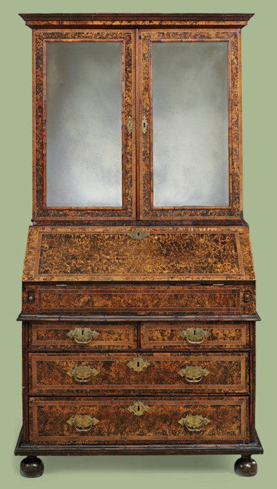 A QUEEN ANNE INLAID-PEWTER, ST