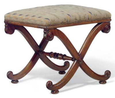A REGENCY ROSEWOOD-GRAINED STO