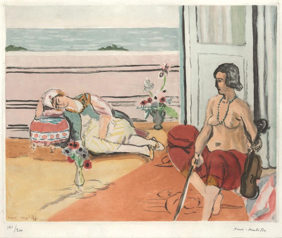 AFTER HENRI MATISSE BY JACQUES VILLON (1875-1963)