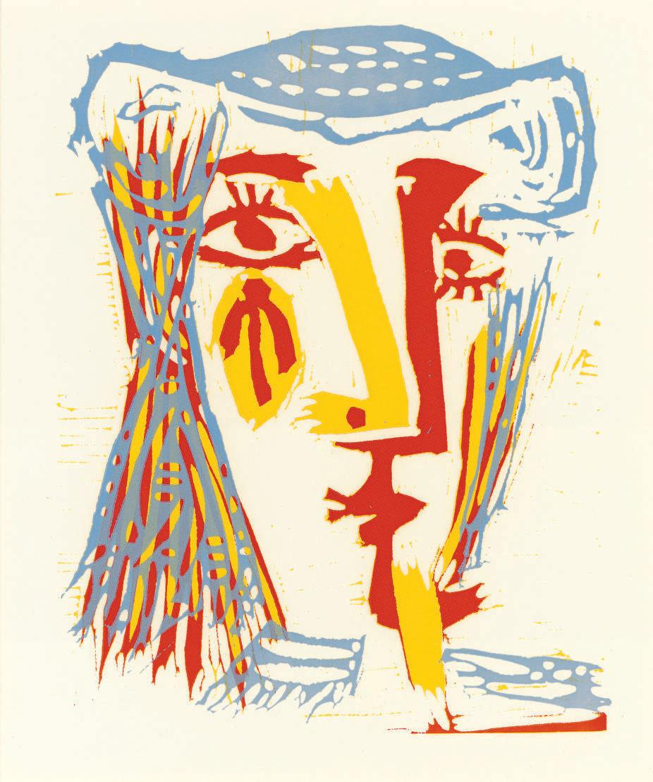 pablo picasso femme au chapeau de paille bleue not in b ba 1282 christie 39 s
